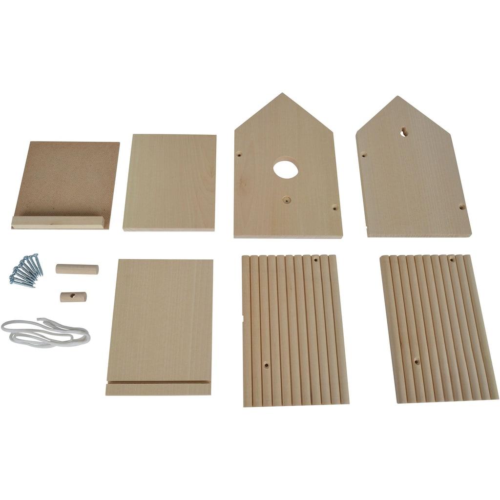Eichhorn Kreativset »Eichhorn Outdoor, Vogelhaus«, (Set), Zum Zusammenbauen und Bemalen; Made in Europe
