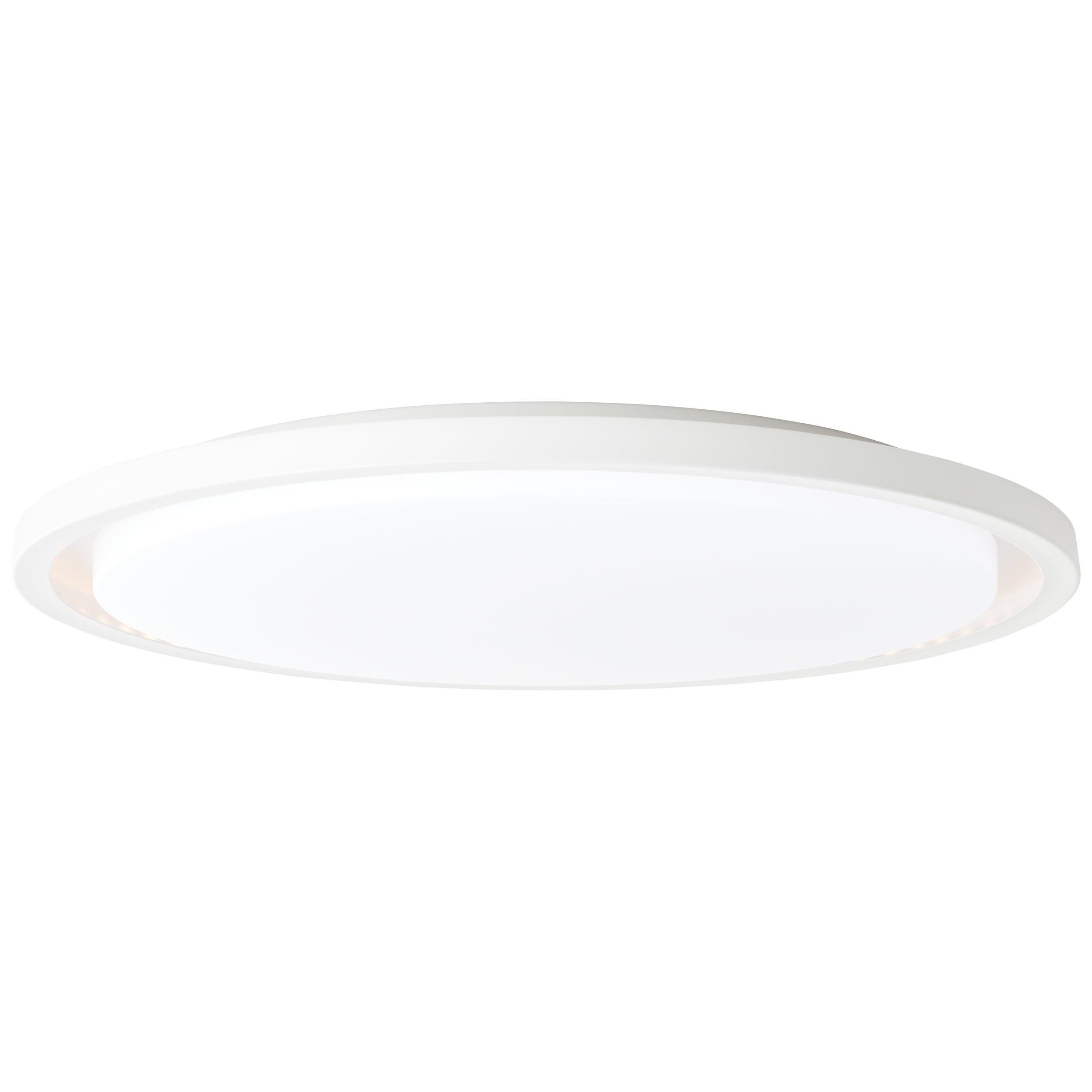 Brilliant Leuchten Briant LED Wand- und Deckenleuchte 58cm sand/weiß