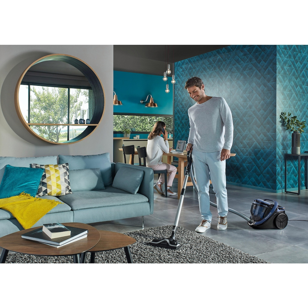 Rowenta Bodenstaubsauger »Silence Force Cyclonic Animal Care Pro (RO7681EA)«, 750 W, beutellos, leiser als ein TV