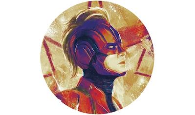 Komar Fototapete »Avengers Painting Captain Marvel Helmet«,... kaufen