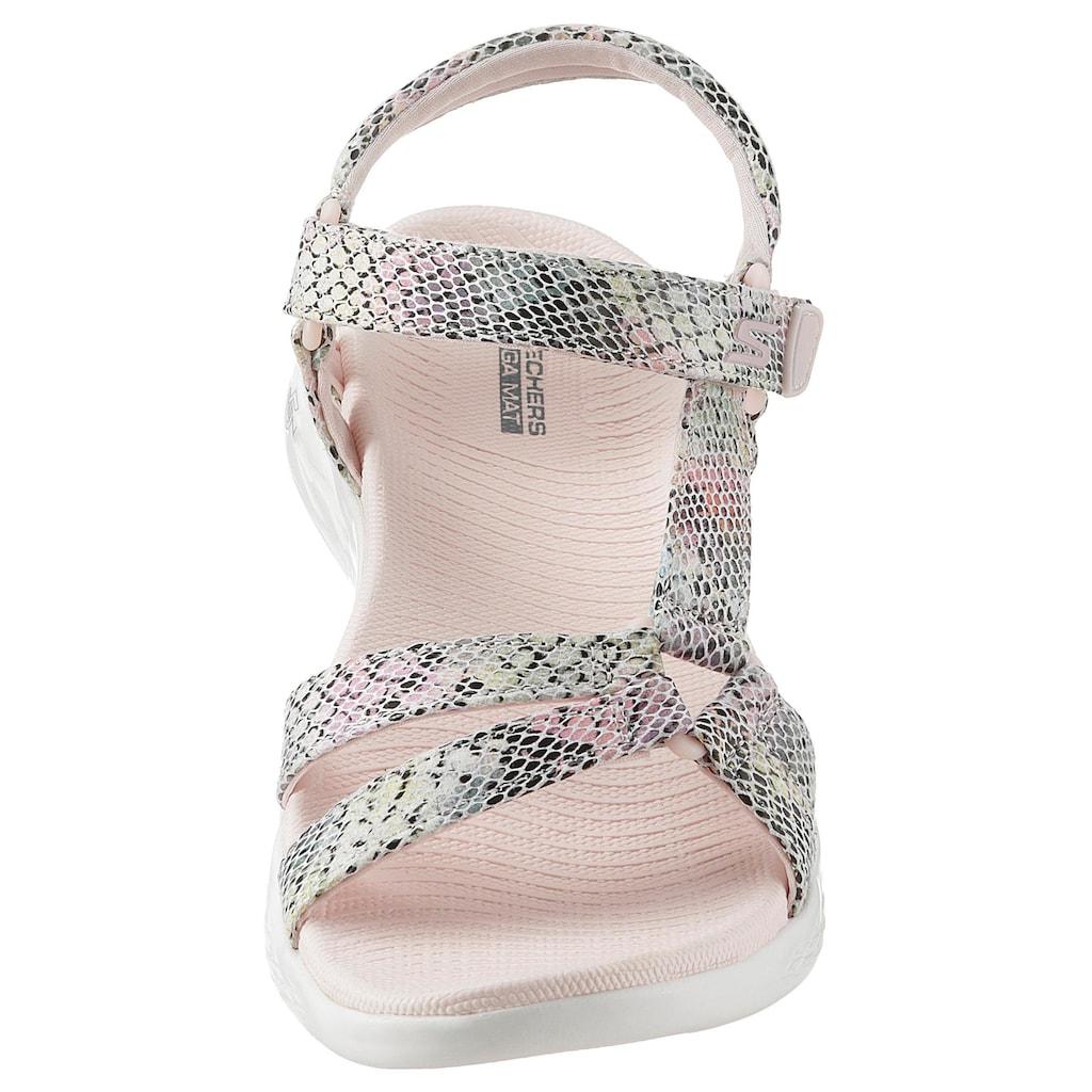 Skechers Sandale »On the Go 600 - Boa«, in Snake-Optik