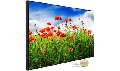 Papermoon Infrarotheizung »Rote Mohnblumen«, sehr angenehme Strahlungswärme kaufen
