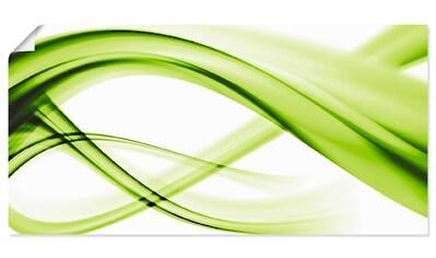 Artland Wandbild »Abstrakte Komposition«, Gegenstandslos, (1 St.), in vielen Größen & Produktarten - Alubild / Outdoorbild für den Außenbereich, Leinwandbild, Poster, Wandaufkleber / Wandtattoo auch für Badezimmer geeignet kaufen