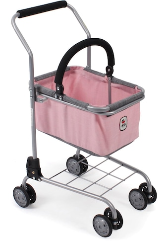 """CHIC2000 Spiel - Einkaufswagen """"Kinder Einkaufswagen, grau - rosa"""" kaufen"""
