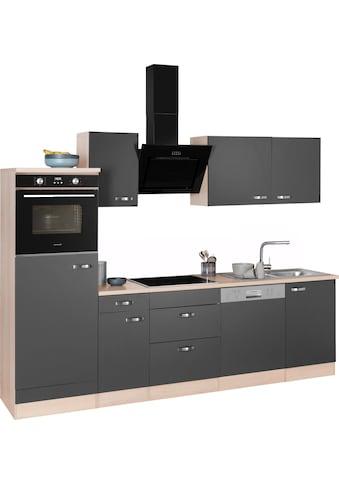 OPTIFIT Küchenzeile »Faro«, mit Hanseatic E-Geräten, Breite 270 cm kaufen