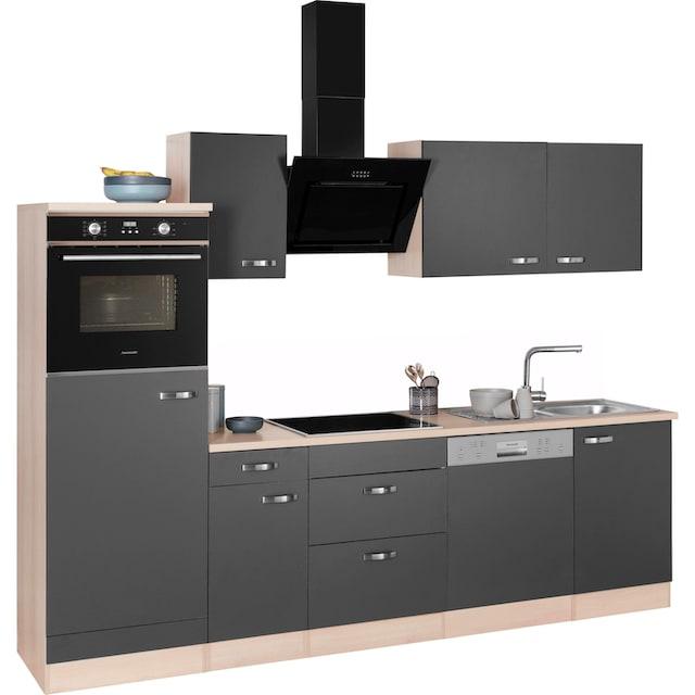 OPTIFIT Küchenzeile »Faro«, mit Hanseatic E-Geräten, Breite 270 cm