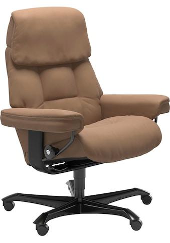 Stressless® Relaxsessel »Ruby«, mit Home Office Base, Größe M, Gestell Eiche, Wenge,... kaufen