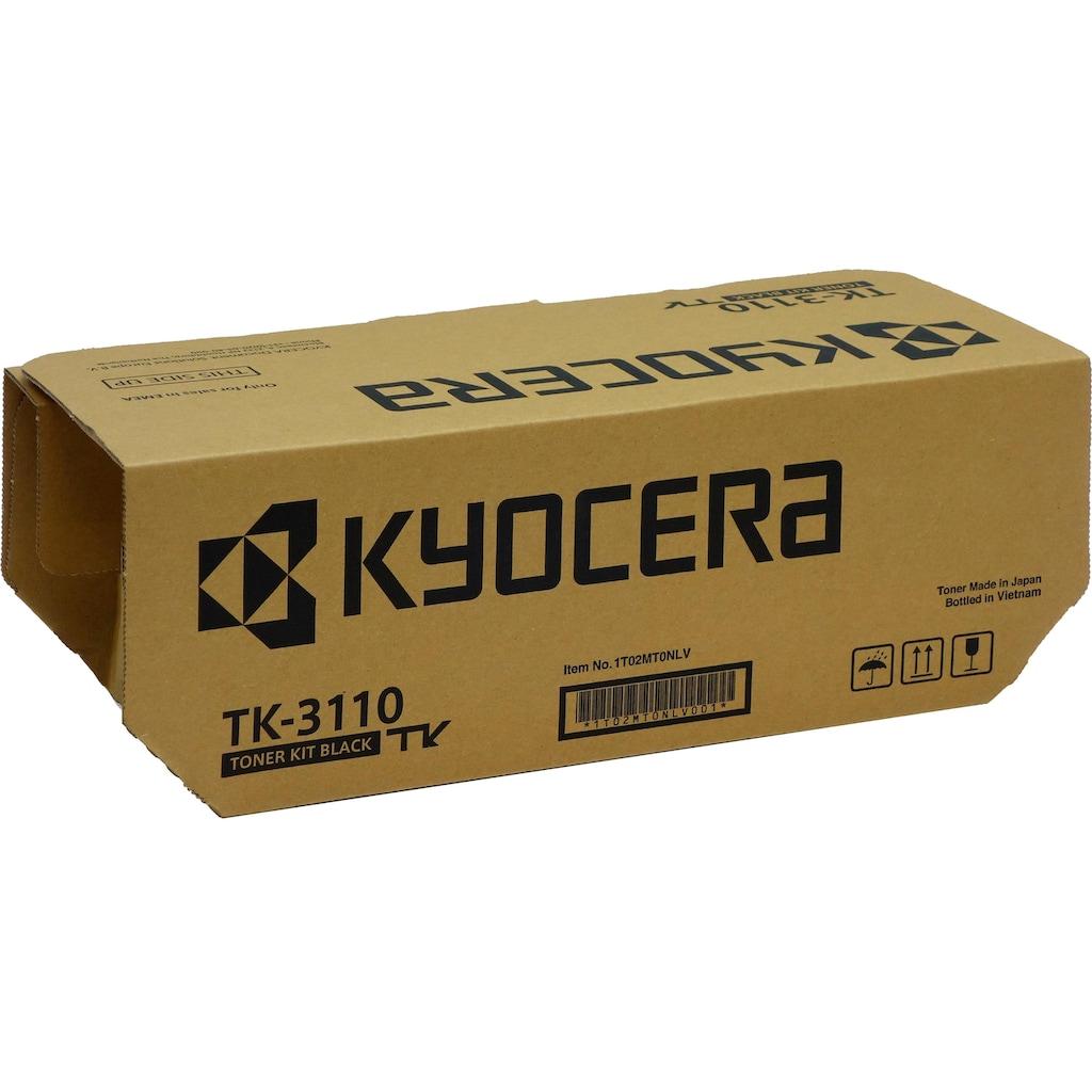 Kyocera Tonerpatrone »TK-3100, original, 1T02MS0NL0, schwarz«