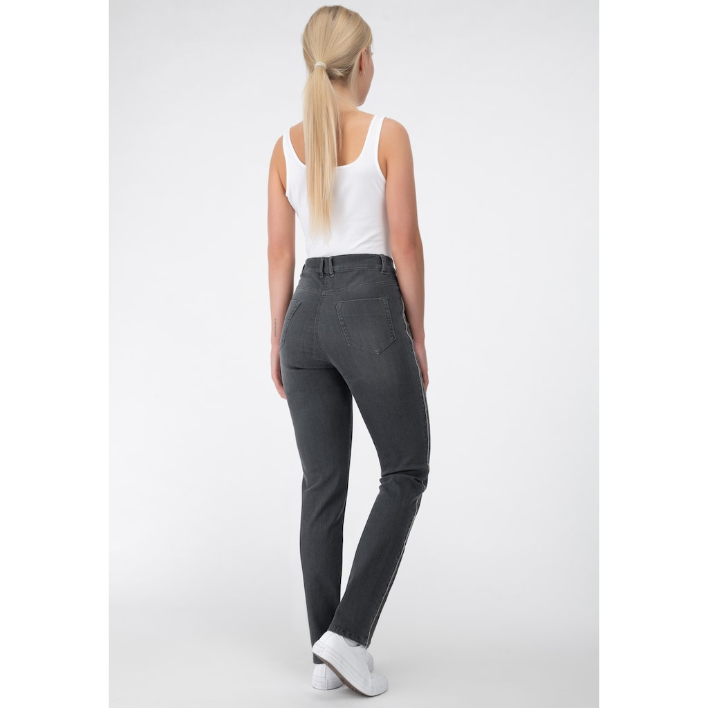 Recover Pants Jeans mit Kettendetails