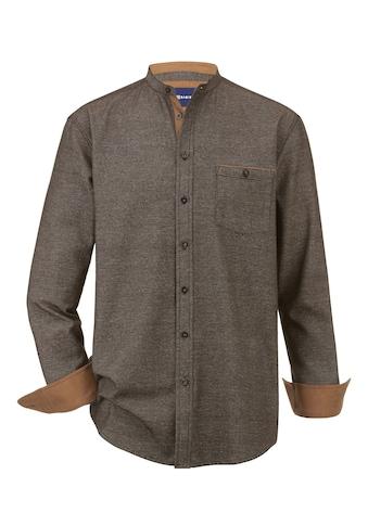 Babista Langarmhemd, mit modischem Stehkragen kaufen