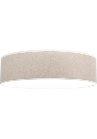 OTTO products Deckenleuchte »Emmo«, E27, Deckenlampe mit hochwertigem Leinen - Schirm Ø 48 cm, mit Magnetbefestigung, Made in Europe, geeignet für LM E27 (exklusive) kaufen