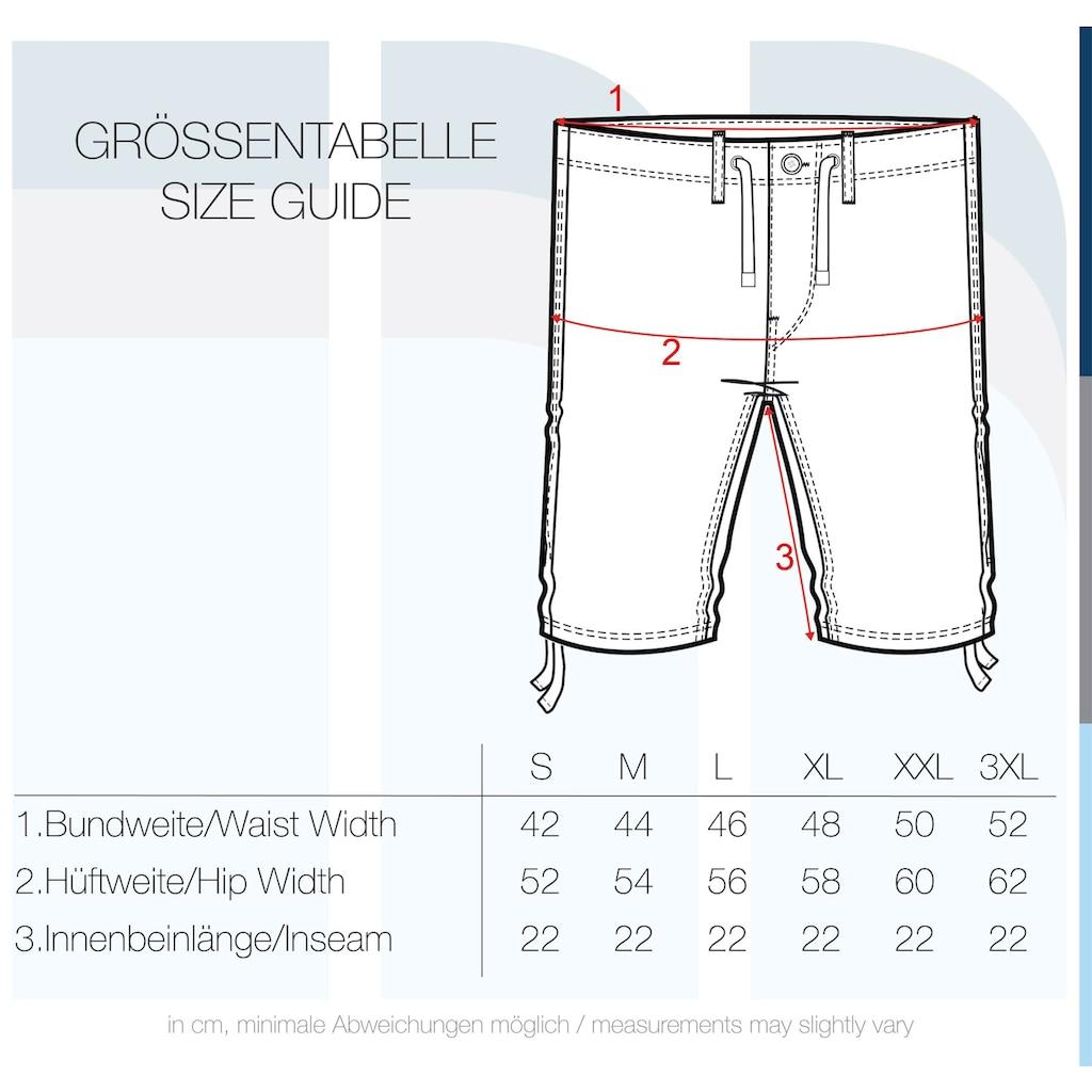 Indicode Leinenhose »Moses«, kurze Hose aus Leinenqualität