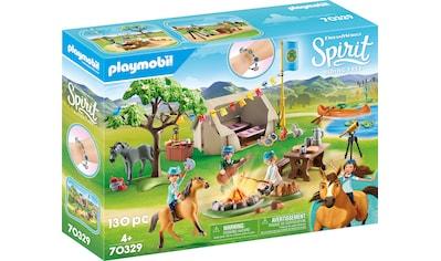 "Playmobil® Konstruktions - Spielset ""Sommercamp (70329), Spirit Riding Free"", Kunststoff kaufen"