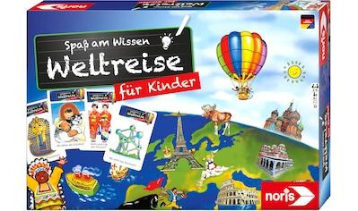 Noris Spiel »Spaß am Wissen - Weltreise für Kinder« kaufen