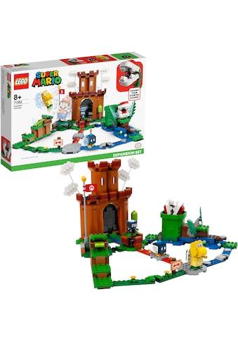 """LEGO® Konstruktionsspielsteine """"Bewachte Festung – Erweiterungsset (71362), LEGO® Super Mario"""", Kunststoff, (468 - tlg.) kaufen"""