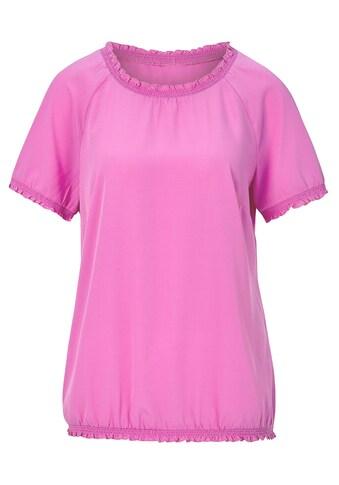 Classic Bluse mit Raglan - Ärmeln kaufen
