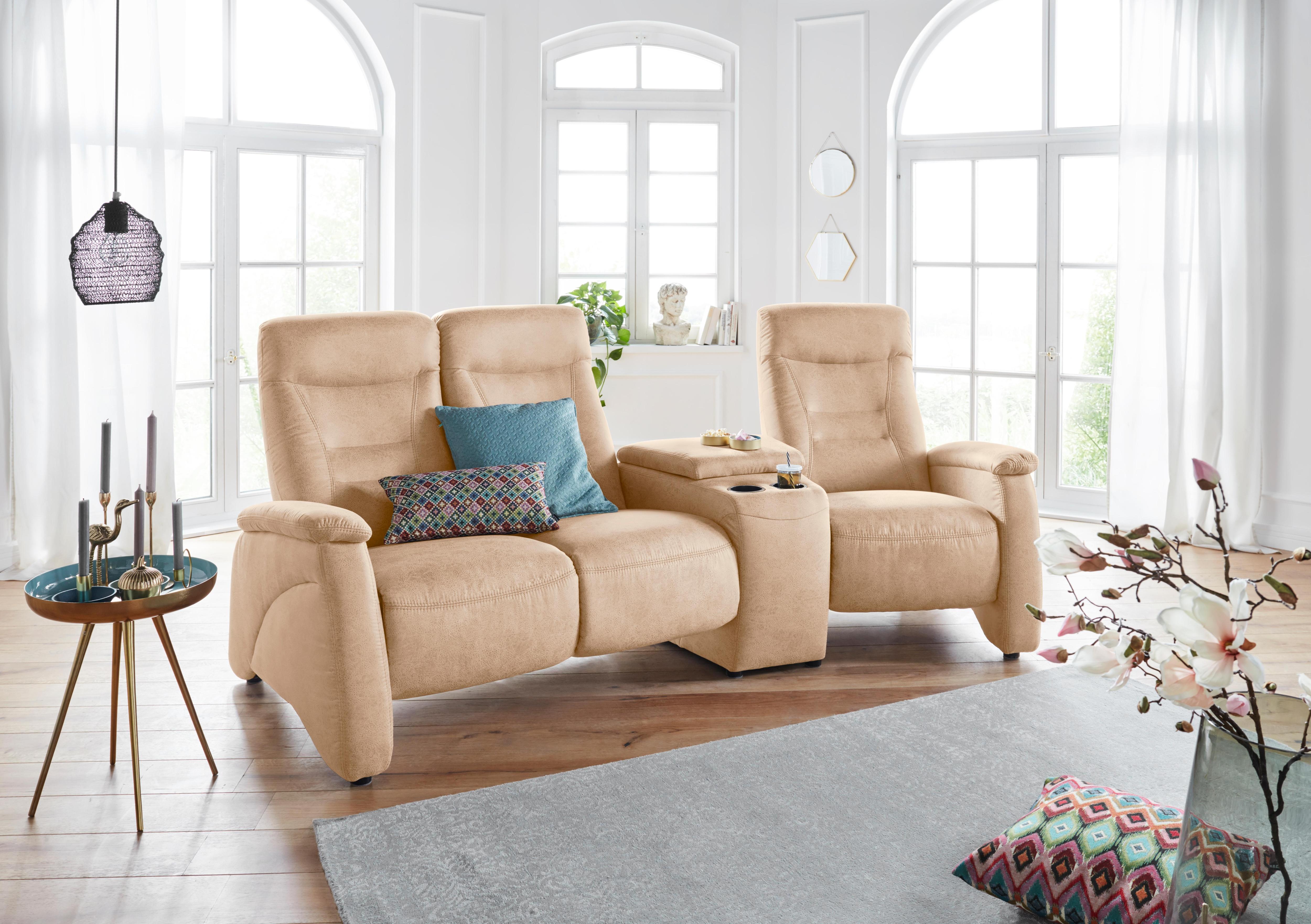 Exxpo Sofa Fashion Rundsofa (3-Sitzer)