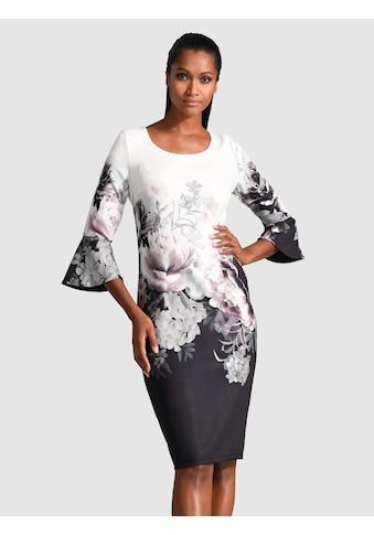 Alba Moda Kleid mit Volantärmeln kaufen