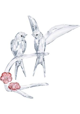 Swarovski Dekofigur »SCHWALBEN, 5475566«, Swarovski® Kristall mit schwarzem Emaille kaufen