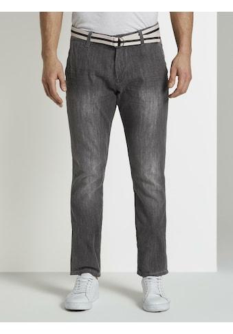 TOM TAILOR Comfort-fit-Jeans »Josh Regular Slim Chino-Jeanshose« kaufen