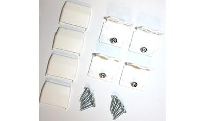 sunlines Sichtschutzzüge Montagezubehör, für die Rahmen/-Wandmontage von Plissees kaufen