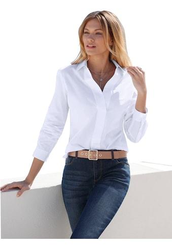 Creation L Bluse mit breiter Blende kaufen