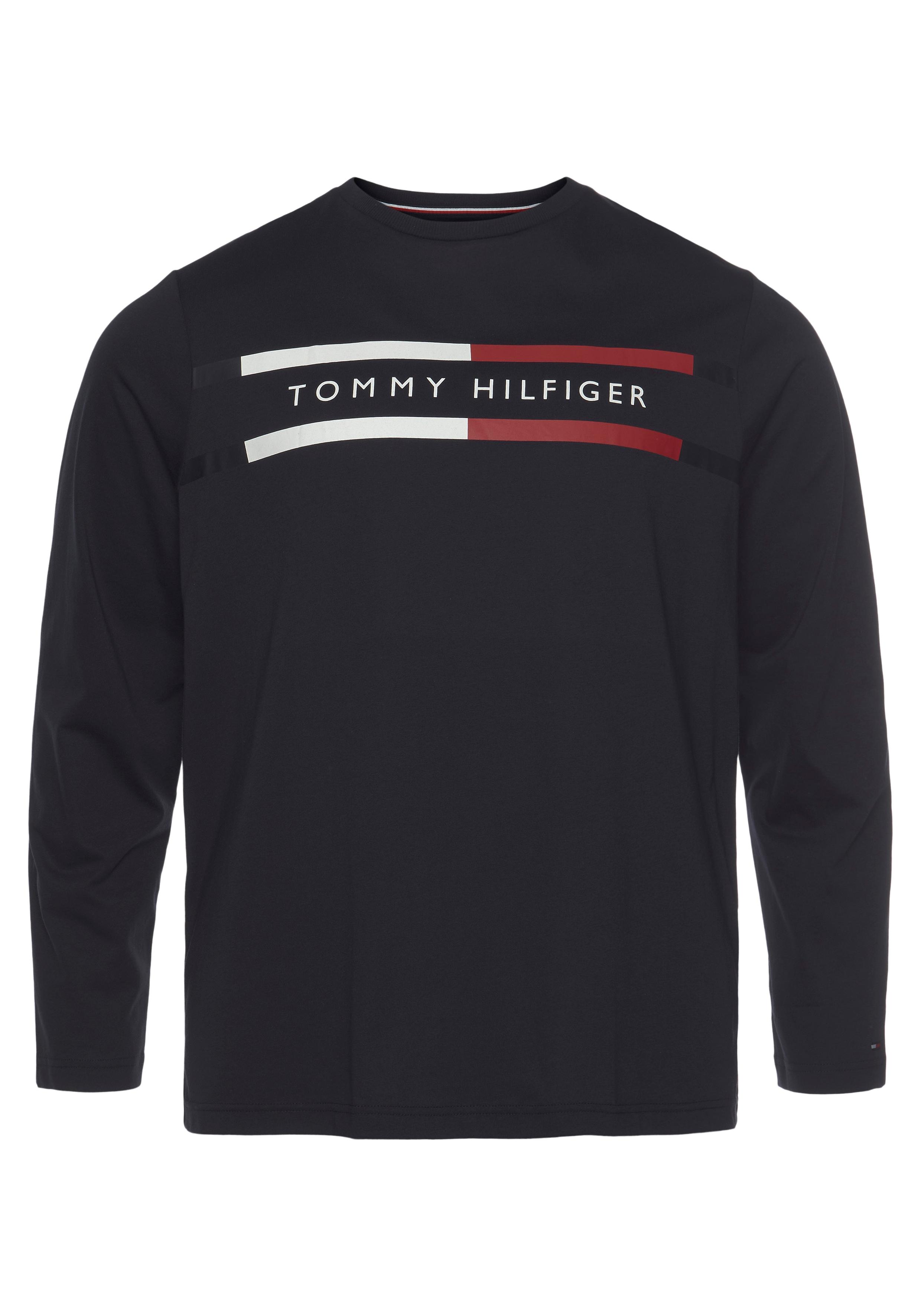 tommy hilfiger big & tall -  Langarmshirt BT-CORP CHEST STRIPE LS TEE