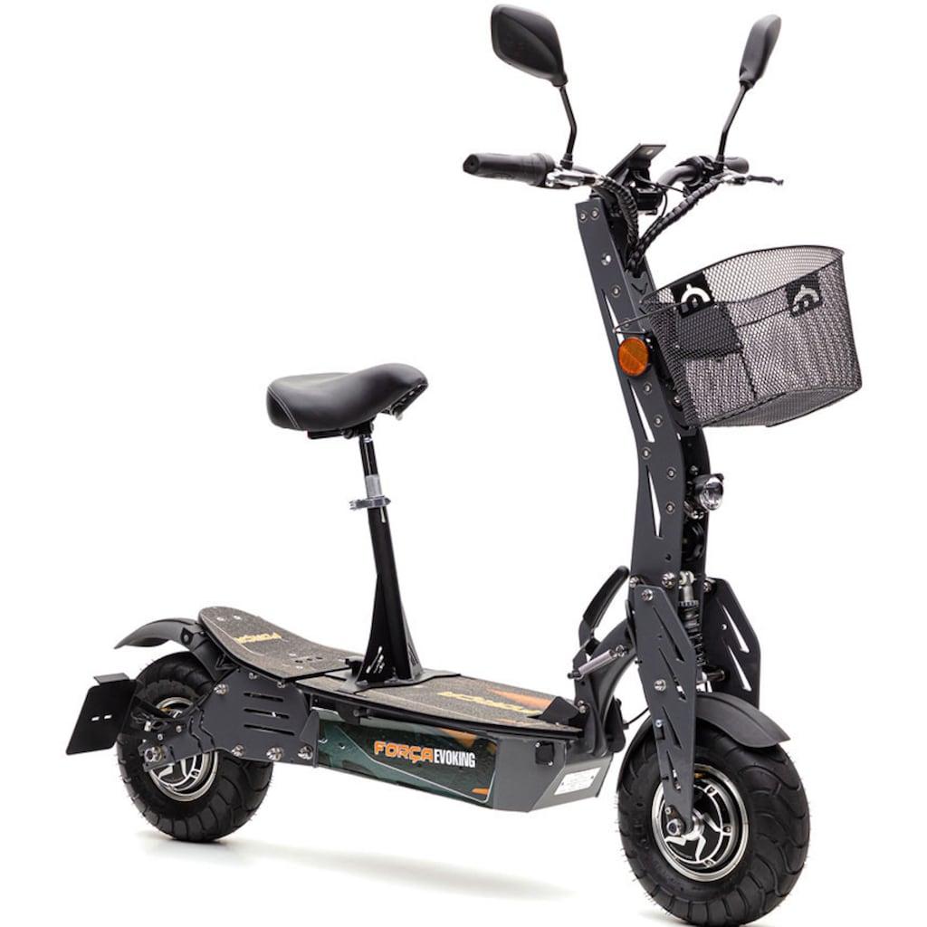 Forca E-Scooter »Evoking 45 km/h Basic«, 45 km/h, 40 km