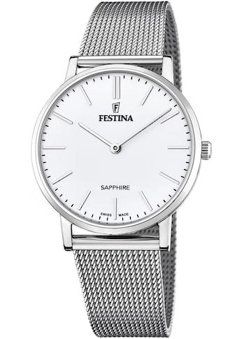 Festina Schweizer Uhr »Festina Swiss Made, F20014/1« kaufen