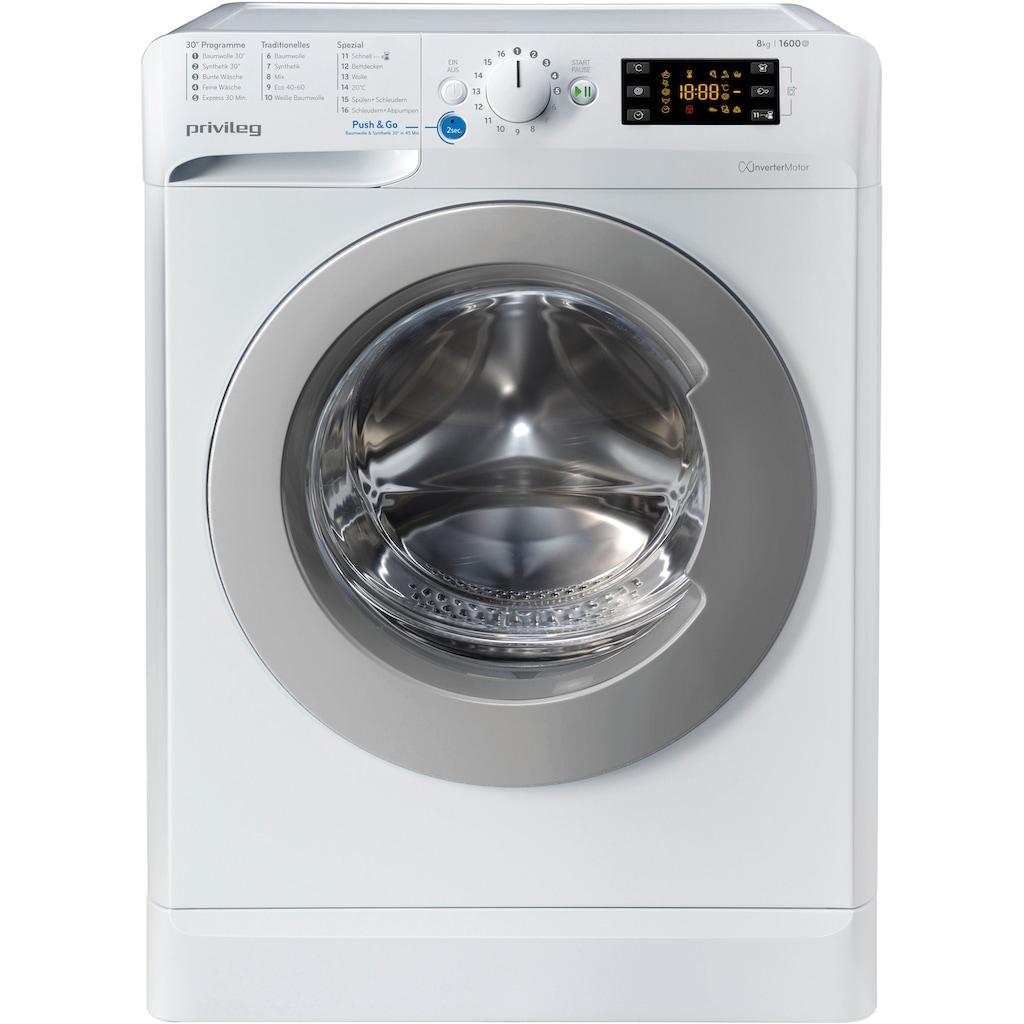 Privileg Family Edition Waschmaschine »Family Edition PWF X 863«, PWF X 863 N, 50 Monate Herstellergarantie