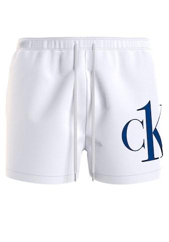 Calvin Klein Badeshorts, mit CK Schriftzug auf dem Bein kaufen