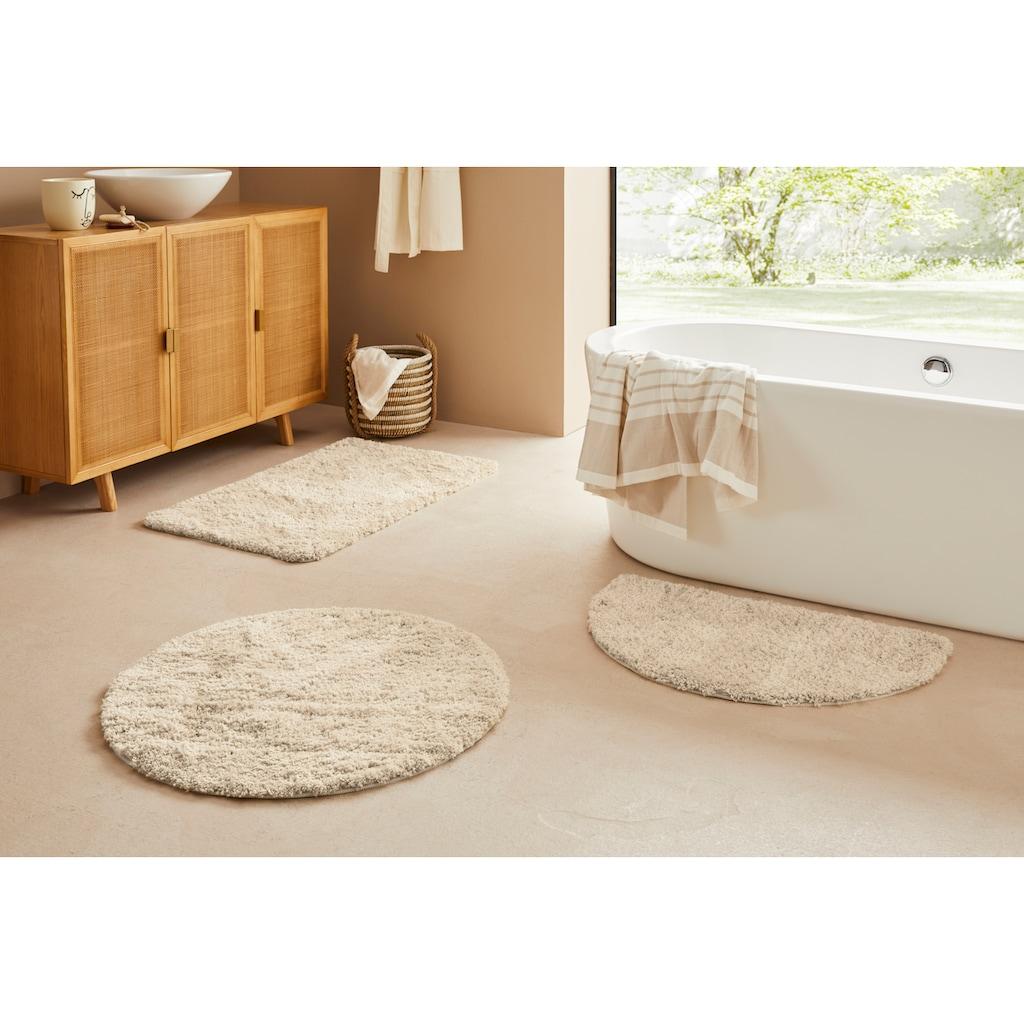 Badematte »Narami«, LeGer Home by Lena Gercke, Höhe 30 mm, rutschhemmend beschichtet, fußbodenheizungsgeeignet
