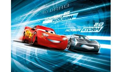 KOMAR Set: Fototapete »Cars3 Simulation«, Ausgezeichnet lichtbeständig kaufen