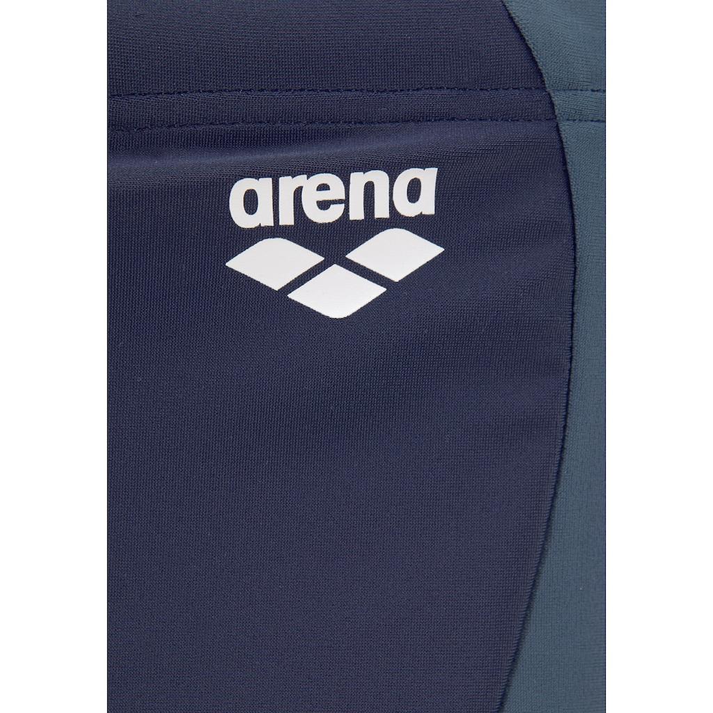 Arena Boxer-Badehose, mit Kontrasteinsätzen