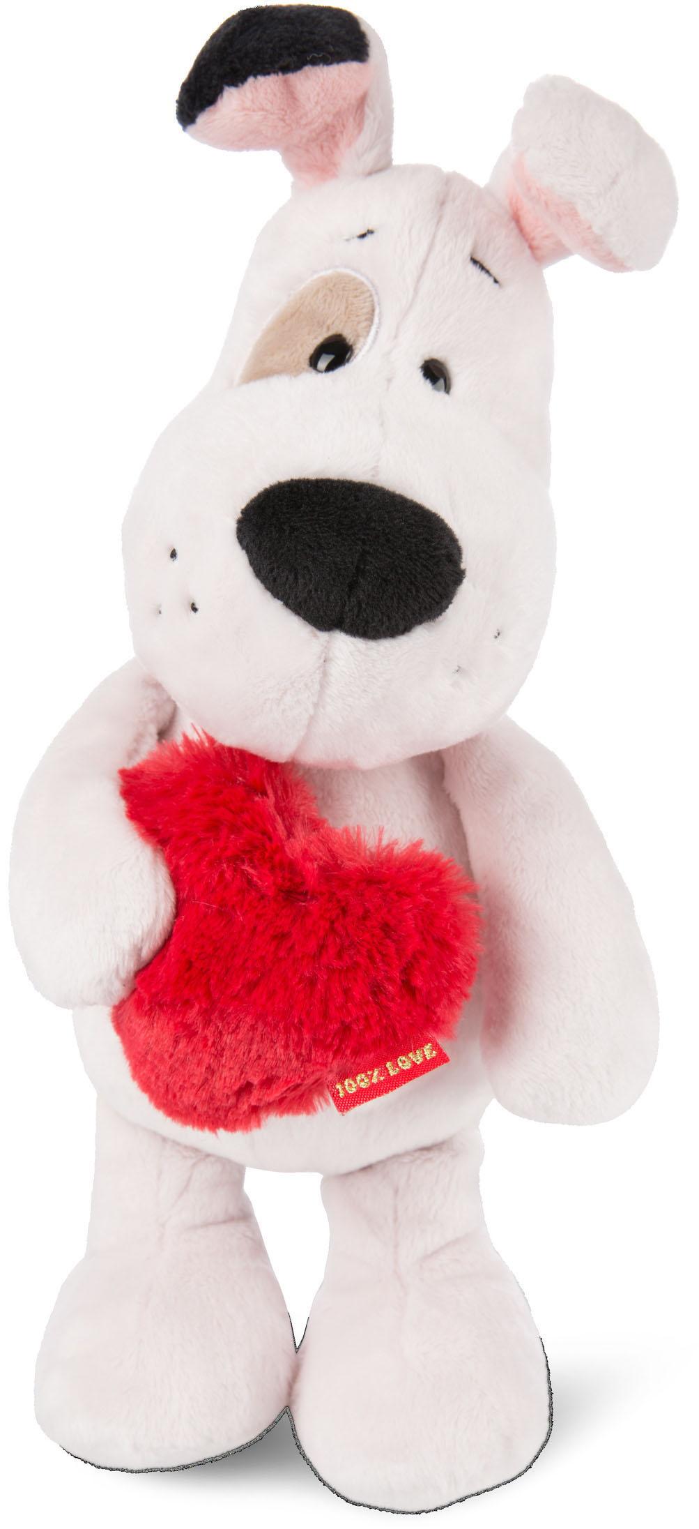 Nici Kuscheltier Love Classics, Hund, 27 cm weiß Kinder Plüschtiere Kuschel-