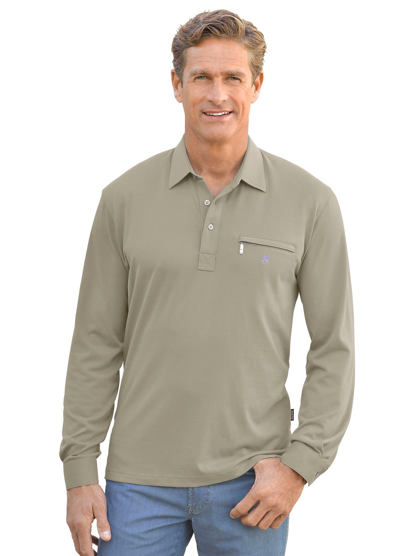 Hajo Langarm-Shirt in stay fresh-Qualität | Bekleidung > Shirts > Langarm Shirts | Grün | Hajo