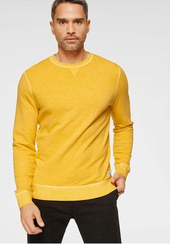 TOM TAILOR Sweatshirt, mit Label am Saum kaufen