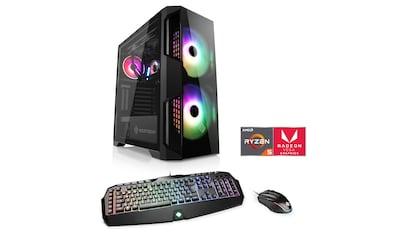 CSL »HydroX T8585 Wasserkühlung« Gaming - PC (AMD, Ryzen 5, Radeon Vega 11, Wasserkühlung) kaufen
