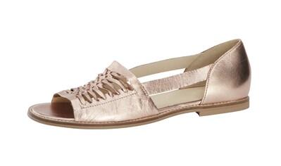 Heine Sommerslipper-Sandale aus Leder kaufen
