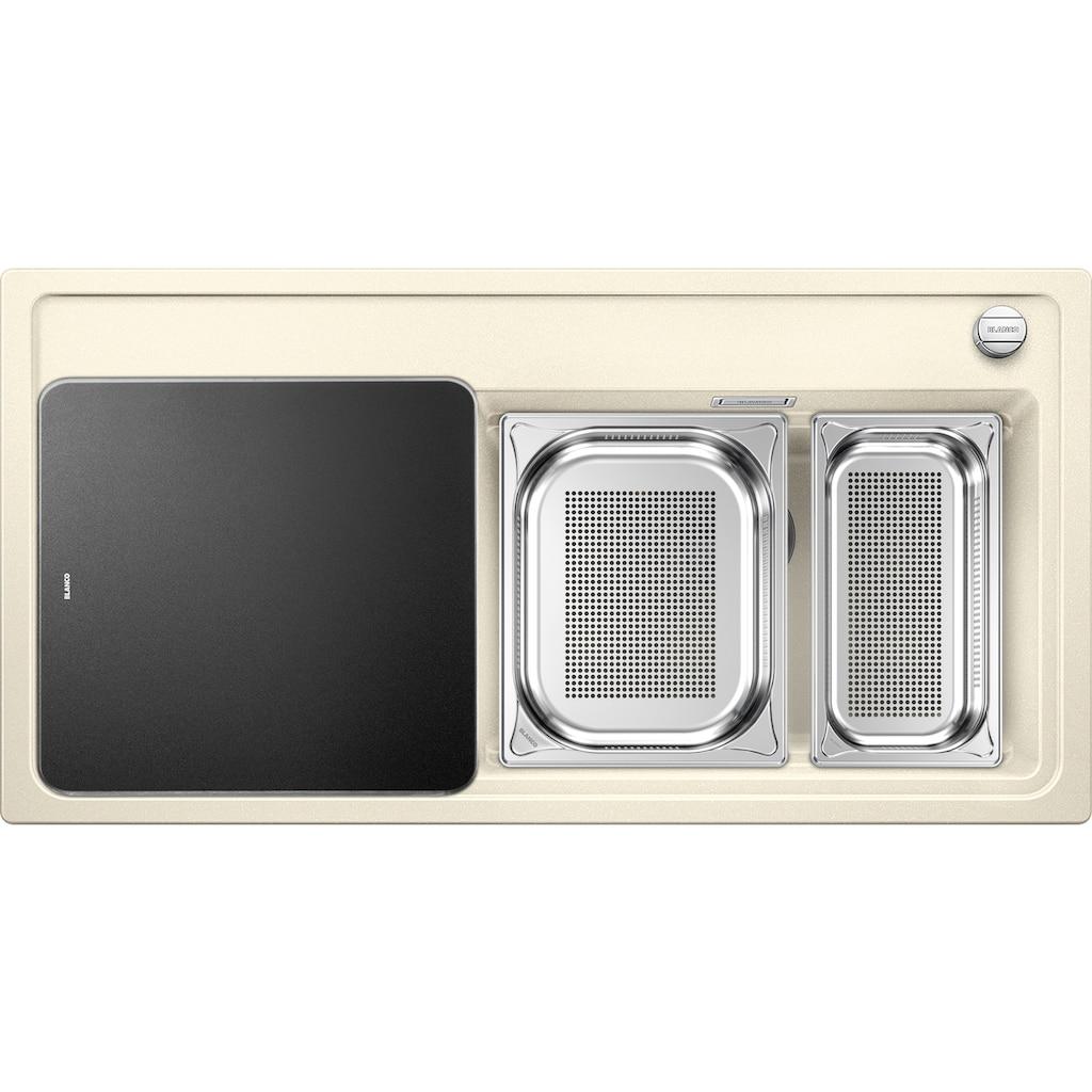 Blanco Granitspüle »ZENAR XL 6 S DampfgarPlus«, aus SILGRANIT®