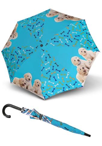 doppler® Stockregenschirm »Art Collection, Jugend Dogs« kaufen