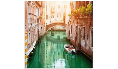 Artland Glasbild »Venedig Canal«, Italien, (1 St.) kaufen