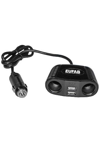 EUFAB KFZ Adapter 12 V, 4 in 1 kaufen