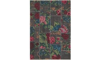 NOURISTAN Teppich »Kelim Patchwork Sofia«, rechteckig, 7 mm Höhe, Orient-Optik,... kaufen