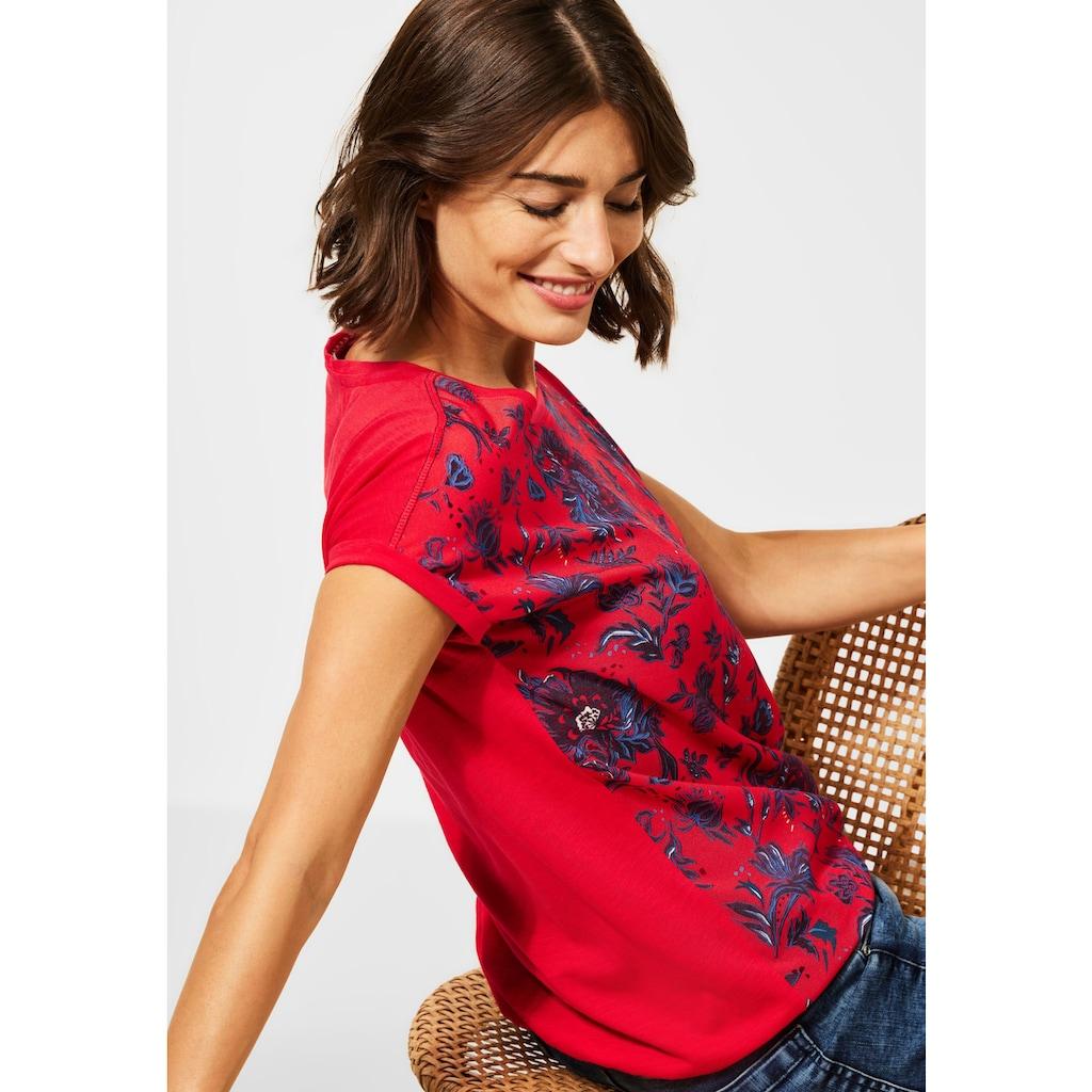 Cecil T-Shirt, mit Gummizug im Bund