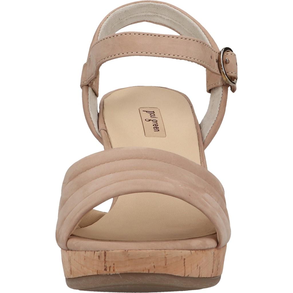 Paul Green High-Heel-Sandalette »Nubukleder«