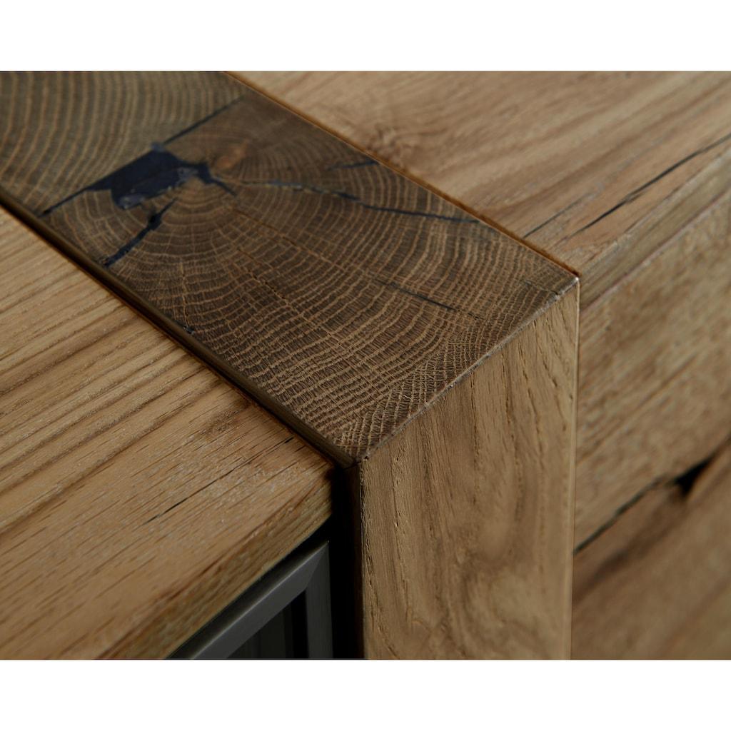 VENJAKOB Sideboard »albero«, Breite 196 cm, inklusive Beleuchtung