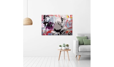 Art & Pleasure Acrylglasbild »Street artist«, Menschen kaufen