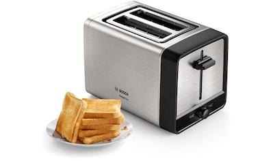 BOSCH Toaster »TAT5P420 DesignLine«, 970 Watt kaufen