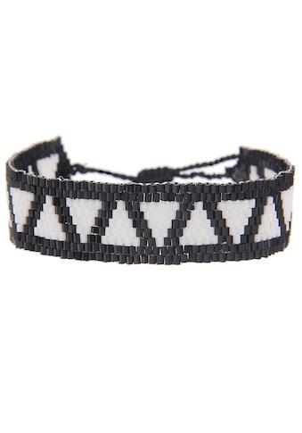 leslii Modeschmuck-Armband mit Web-Muster kaufen